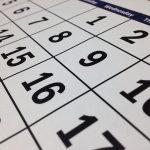 Calendar Date Time Month Week  - tigerlily713 / Pixabay