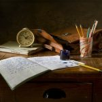 Still Life School Retro Ink Table  - mozlase__ / Pixabay